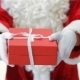 Santa Holding And Offering a Gift - VideoHive Item for Sale