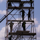 Workers on Scaffolding - VideoHive Item for Sale
