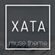 XATA-Creative Muse Architecture Template - ThemeForest Item for Sale