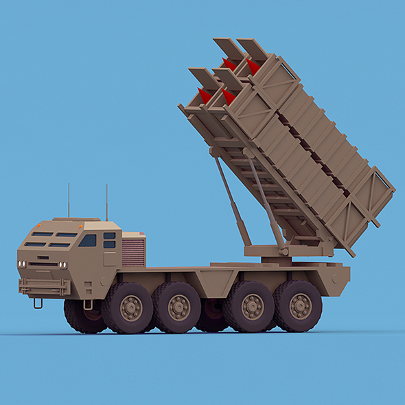 Patriot System Truck - 3DOcean Item for Sale