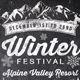 Chalk Winter Festival Flyer - GraphicRiver Item for Sale