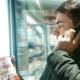 Man Talking On The Phone In Food Store - VideoHive Item for Sale