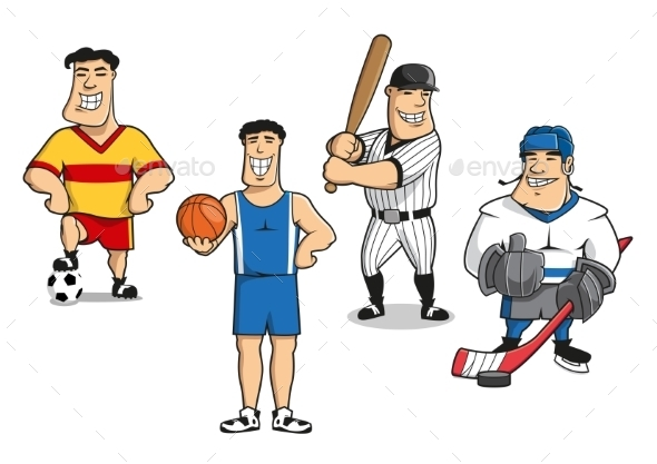 Sports Players - Sports/Activity Conceptual