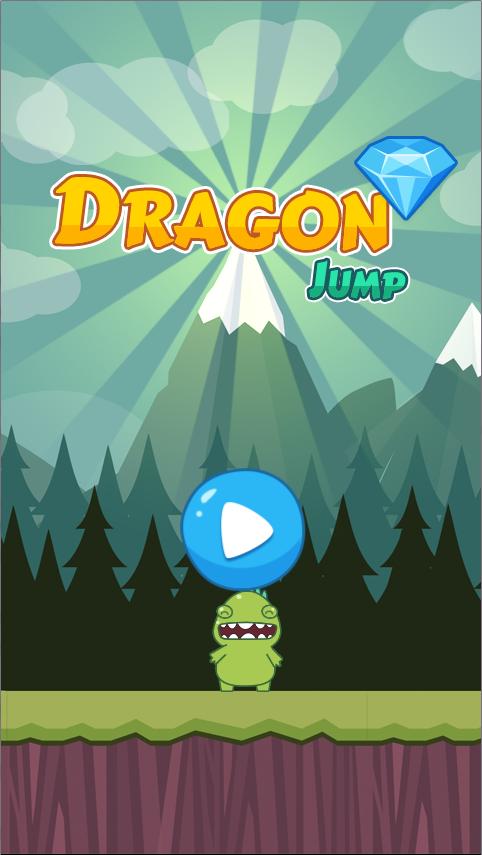 Dragon Jump-html5 mobile game