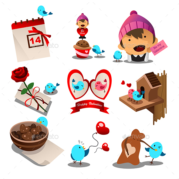 Valentine Day Icons - Valentines Seasons/Holidays