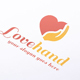 Love Hand Logo - GraphicRiver Item for Sale