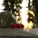 Eternal Flame On The Monument To Unknown Soldier  - VideoHive Item for Sale