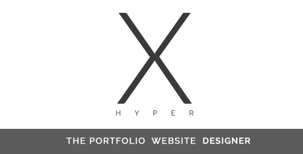 Hyper-X The Portfolio Website Designer