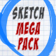 147 Sketch Elements Mega Pack - VideoHive Item for Sale