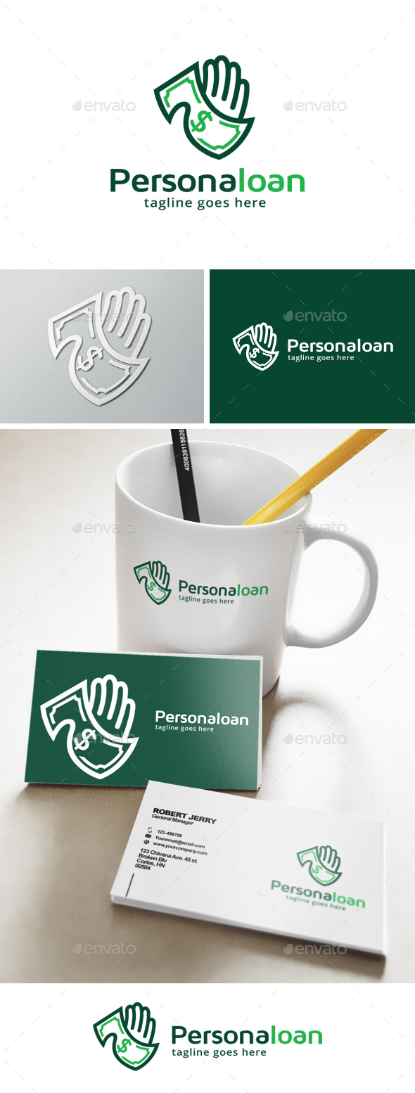 Personal Loan Logo - Objects Logo Templates