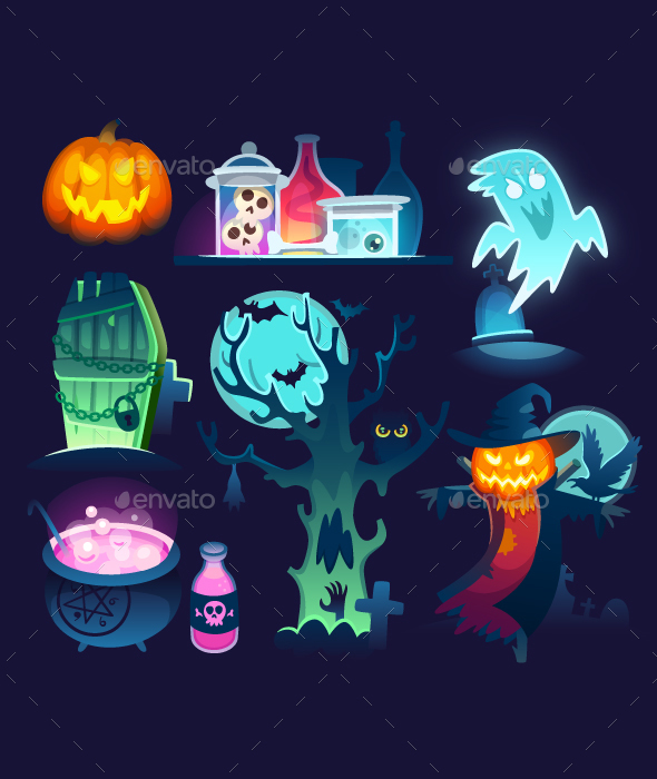 Halloween Illustrations - Halloween Seasons/Holidays