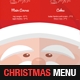 A4 Christmas Menu Template - GraphicRiver Item for Sale