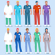Hospital 01 People 2D - GraphicRiver Item for Sale