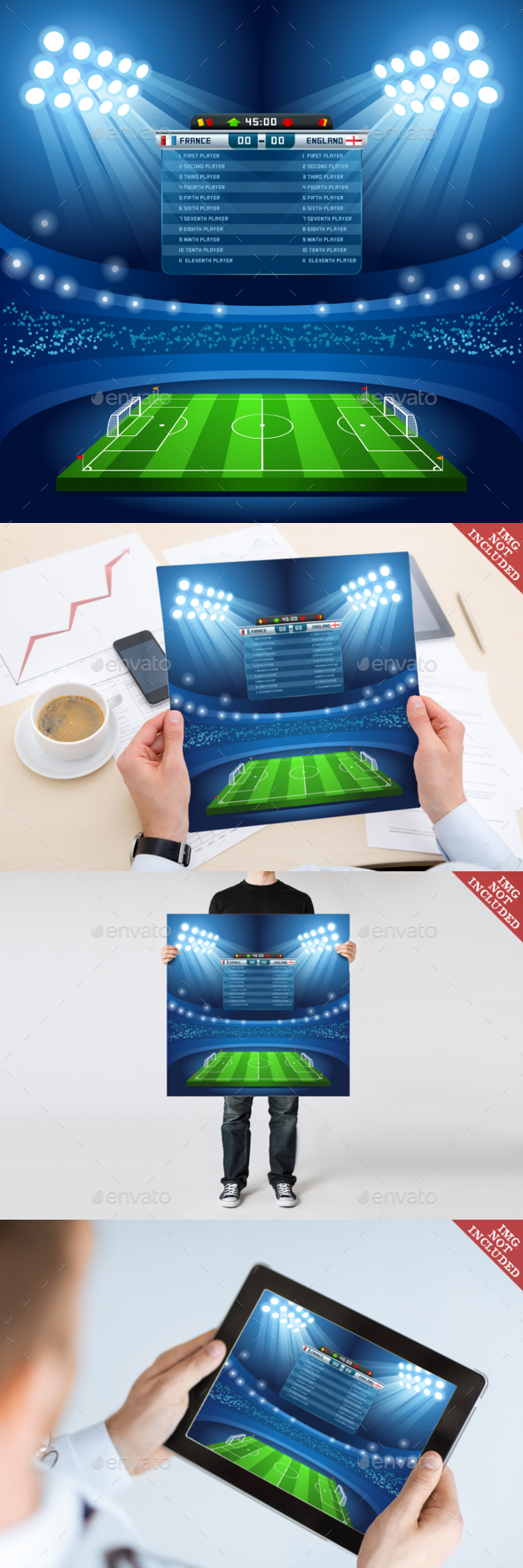 Football 01 Sport Background - Sports/Activity Conceptual