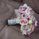 Beautiful bridal bouquet on leather background - PhotoDune Item for Sale