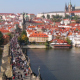 A Lot of Tourists on the Charles Bridge - VideoHive Item for Sale
