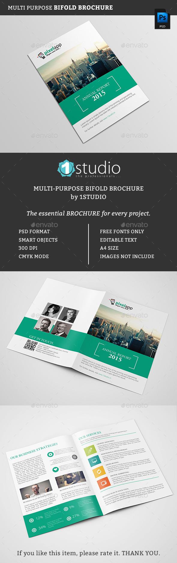 Bifold Brochure 04 - Corporate Brochures