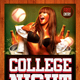 College School Party Flyer - GraphicRiver Item for Sale