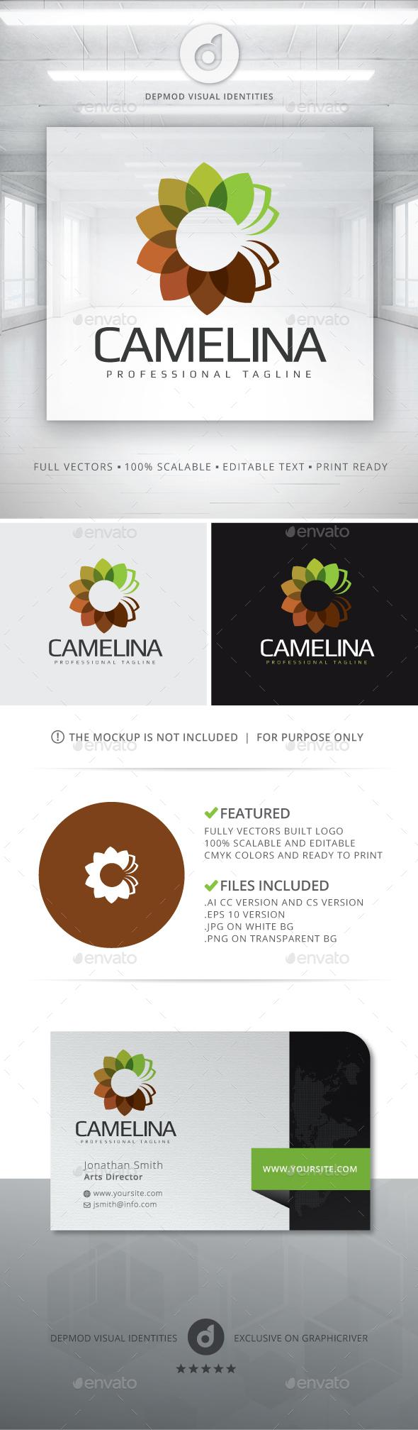 Camelina Logo - Nature Logo Templates