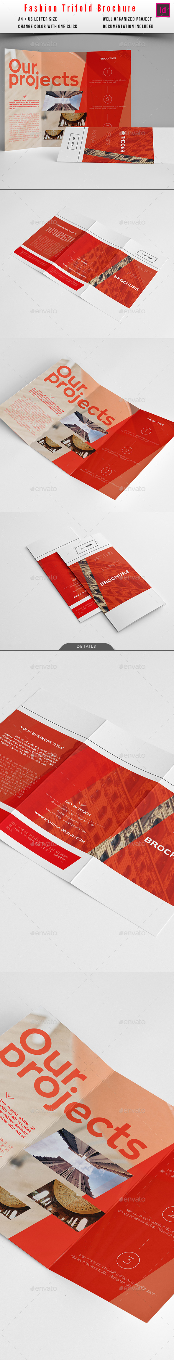 Universal Business Trifold Brochure - Informational Brochures