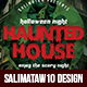 Haunted House Flyer / Poster - GraphicRiver Item for Sale