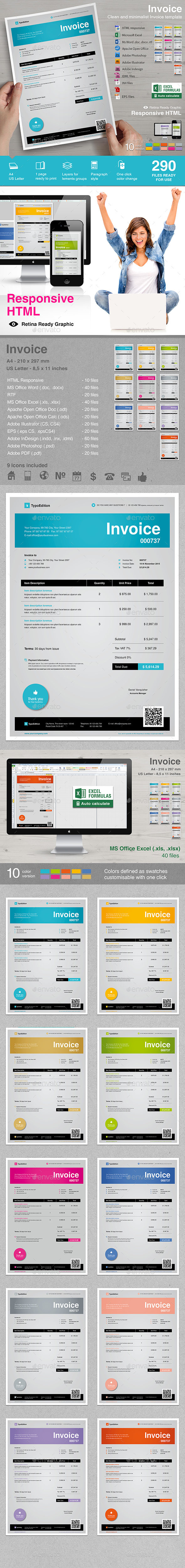 Invoices - Proposals & Invoices Stationery