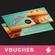 Retro Gift Voucher Template - GraphicRiver Item for Sale