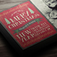 Vintage Christmas Greeting Card - GraphicRiver Item for Sale
