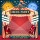 Circus 02 Invitation Vintage 2D - GraphicRiver Item for Sale