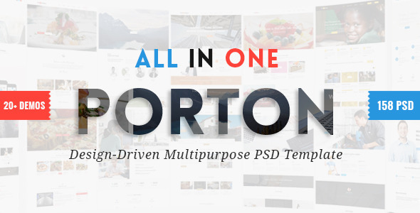 Porton | Design-Driven Multipurpose PSD - Business Corporate