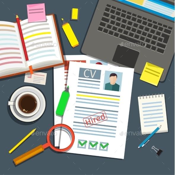 Job Interview Concept  - Concepts Business