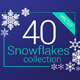 40 Vector Snowflakes Collection - GraphicRiver Item for Sale