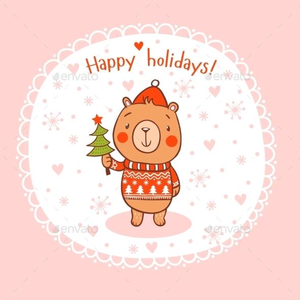 Merry Christmas and Happy New 2016 Year Card - Christmas Seasons/Holidays