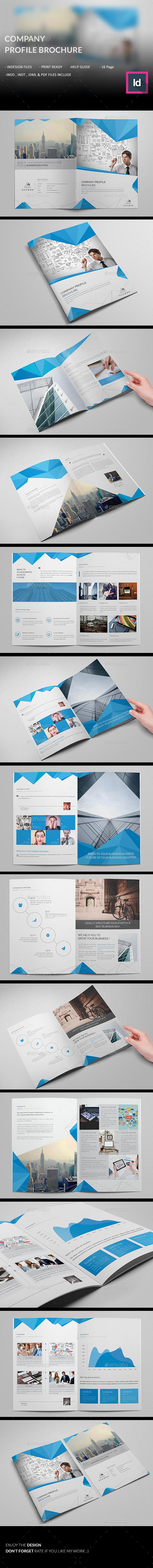 Company Profile Brochure - Corporate Brochures