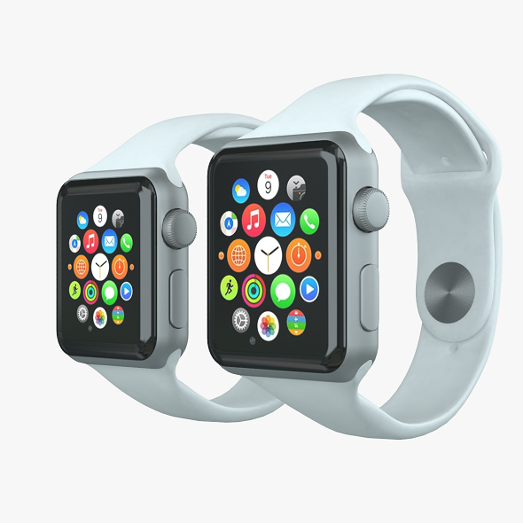Apple watch sport - 3DOcean Item for Sale