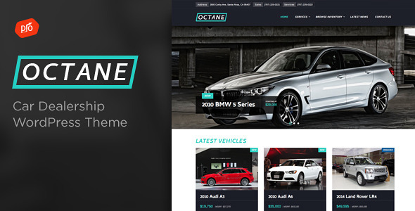 Octane – Car Dealership Theme