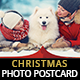 Lovely Christmas Photo Postcard - GraphicRiver Item for Sale