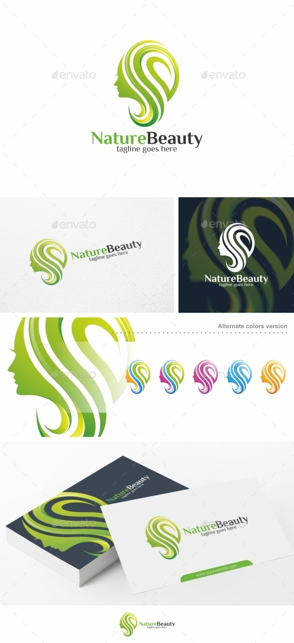 Nature Beauty - Logo Template - Nature Logo Templates