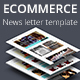 Ecommerce - Newsletter Template - GraphicRiver Item for Sale