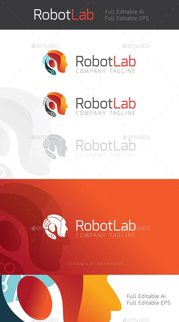 Robot Lab - Logo Templates