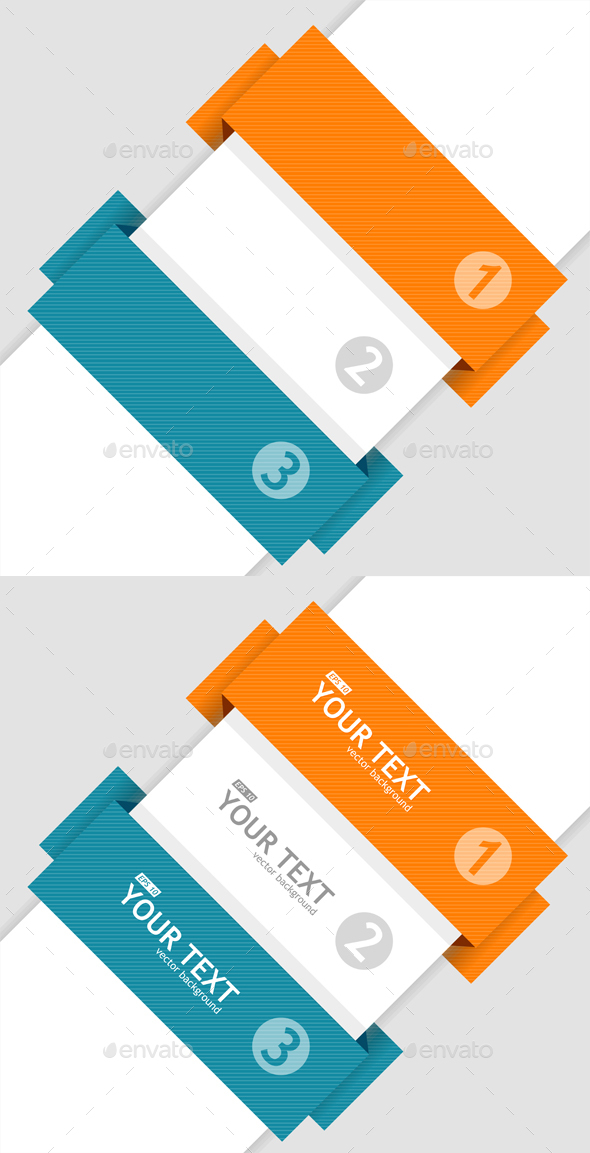Infographics Options Banner. Vector - Business Conceptual