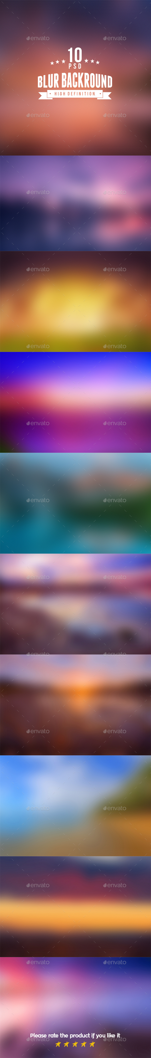 Blurred High Definition Backgrounds - Backgrounds Graphics