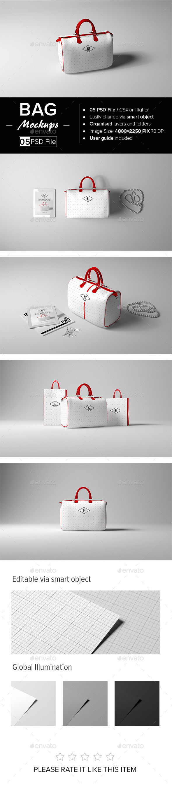 Bag Mock-Up - Miscellaneous Print