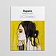 Rupane Art Magazine Template - GraphicRiver Item for Sale