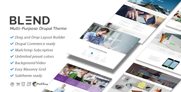 Blend – Multi-Purpose eCommerce Drupal Theme