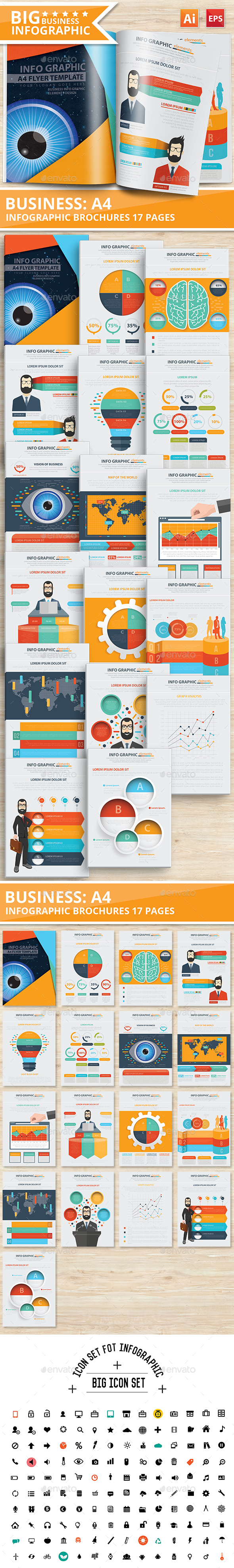 Business Infographics Design 17 Pages - Infographics