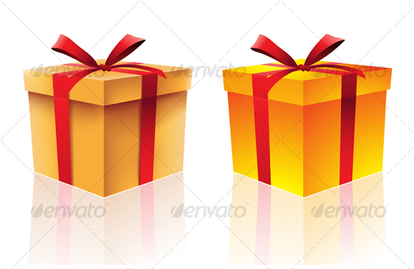 gift boxes - Christmas Seasons/Holidays