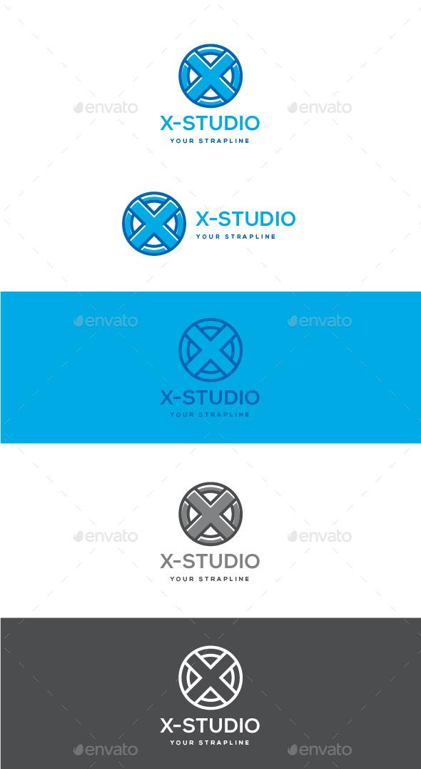 X-Studio Logo - Letters Logo Templates