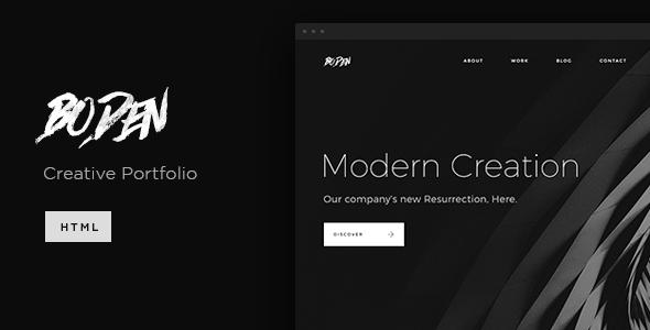 Boden – Creative Portfolio Template