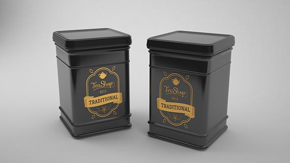 Tea Can - 3DOcean Item for Sale